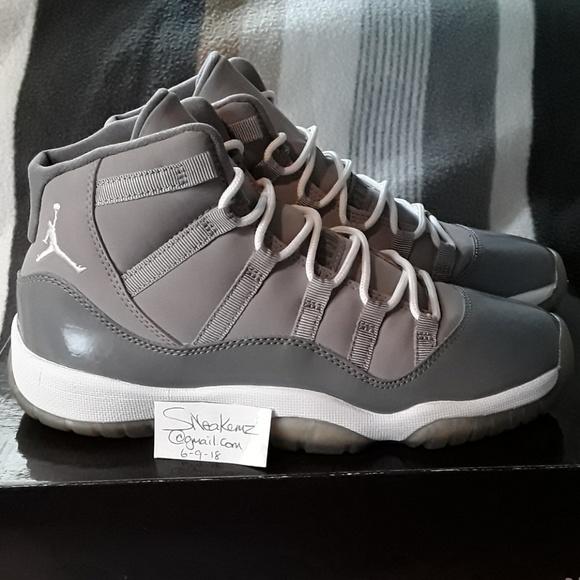4ac5838a688b Jordan Shoes - AIR JORDAN 11 RETRO COOL GREY SZ 5.5Y GS